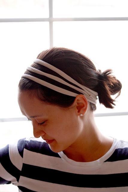 No-Sew T-Shirt Headband