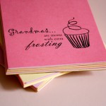 Kid Art Notepads for Mother's Day