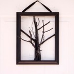 spooky tree door hanging