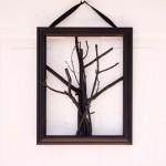 spooky tree door hanging