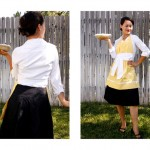 Pumps and Pearls Apron