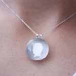 Sweetheart Silhouette Necklace