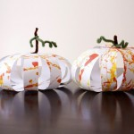 paper pumpkins for kids
