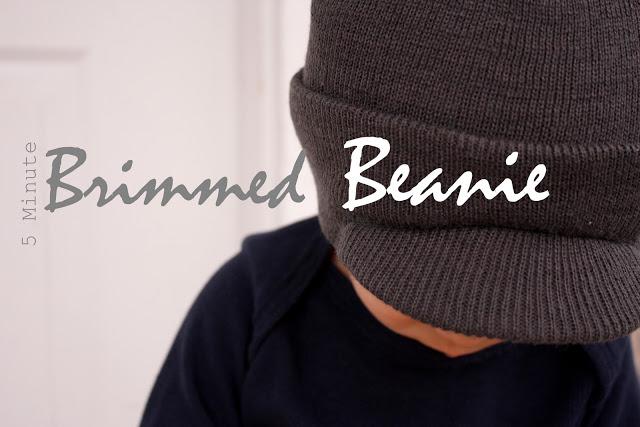 84ec0966236a8 Five Minute Brimmed Beanie