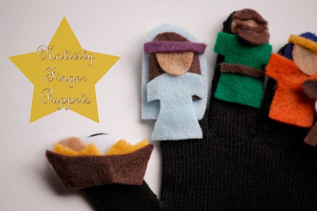 Nativity Finger Puppets (5) - Copy