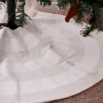 Striped Tree Skirt Tutorial