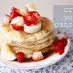 Creamy Yogurt Pancakes