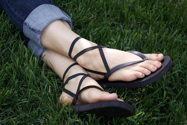 1bcc43984169b Strappy Flip Flops