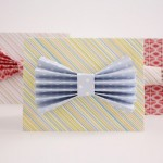 Scratch Off Bow Tie Father's Day Card