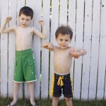 Summertime Boy's Swim Shorts