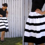 striped jersey dresses-1