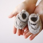Nesting Series and Crochet Baby Hat and Booties