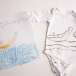Nesting: Kid Art Onsies…Sibling Gifts