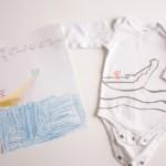 Nesting: Kid Art Onsies…Sibling Gifts