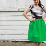 Green Mommy Skirt-6180