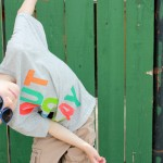 Rainbow: Fabric Painted Boys T-shirt Inspiration