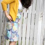 Hope Chest Pencil Skirt
