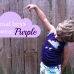 purple title