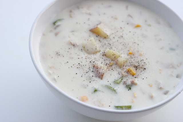 Soup of the Day: Cold Day Clam Chowder