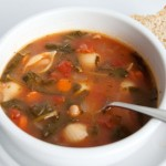 Soup of the Day: Minestrone with Spinach