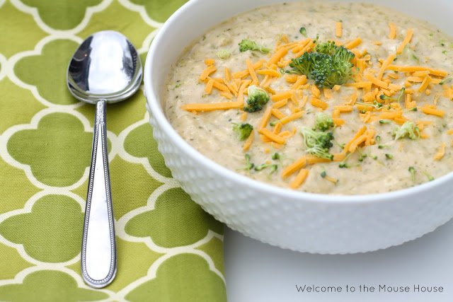 broccoli cheese soup 2