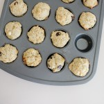 Banana Chocolate Chip Muffins * with a smidge of healthy