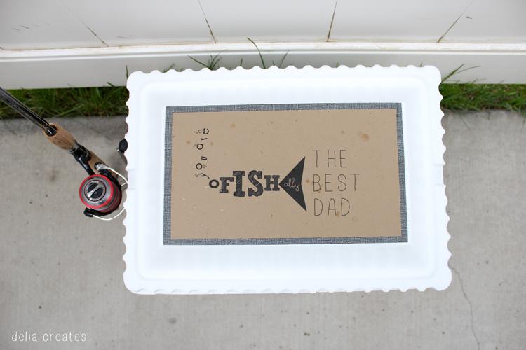 An O Fish Al Father S Day Gift Idea A Free Printable