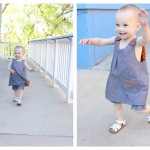 Roly Poly Pinafore Pattern Review and giveaway!