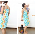 Super Easy Hands Free Towel Wrap