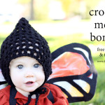 Crochet Mesh Bonnet Free Pattern + Tutorial
