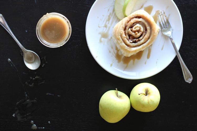 Caramel Apple Cinnamon Rolls (72 of 78)