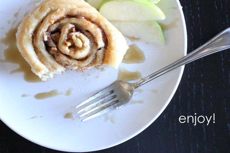 Caramel Apple Cinnamon Rolls (77 of 78)