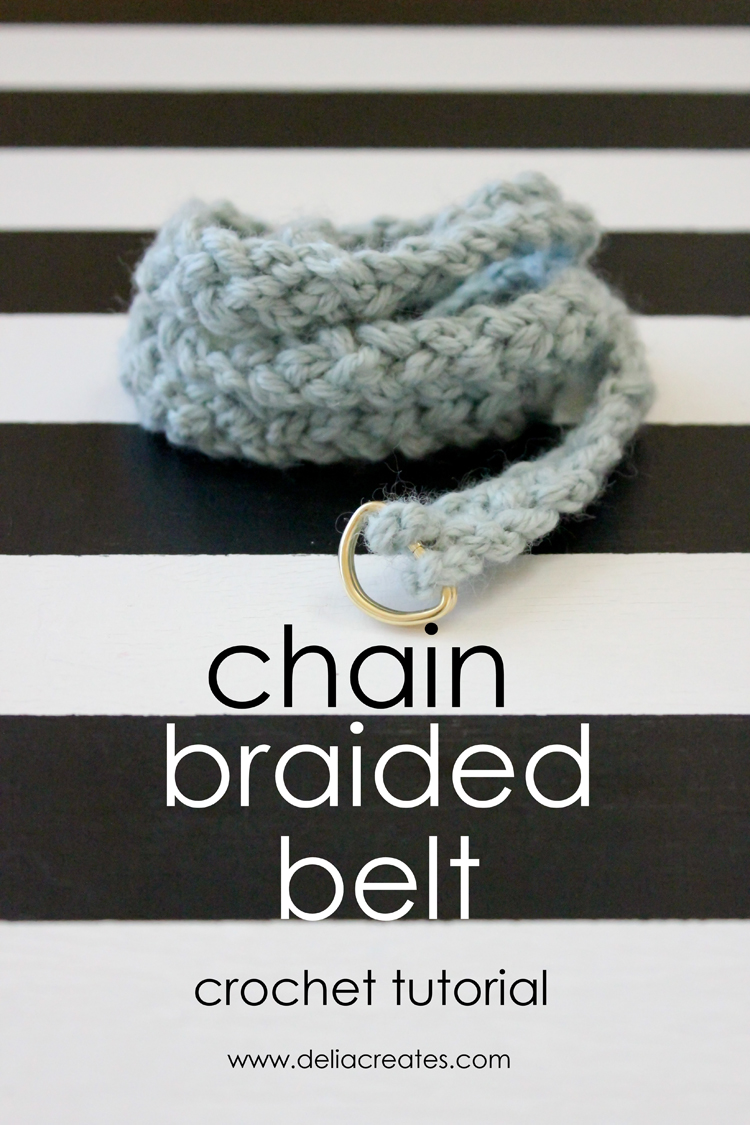 Chain Braided Belt A Crochet Tutorial