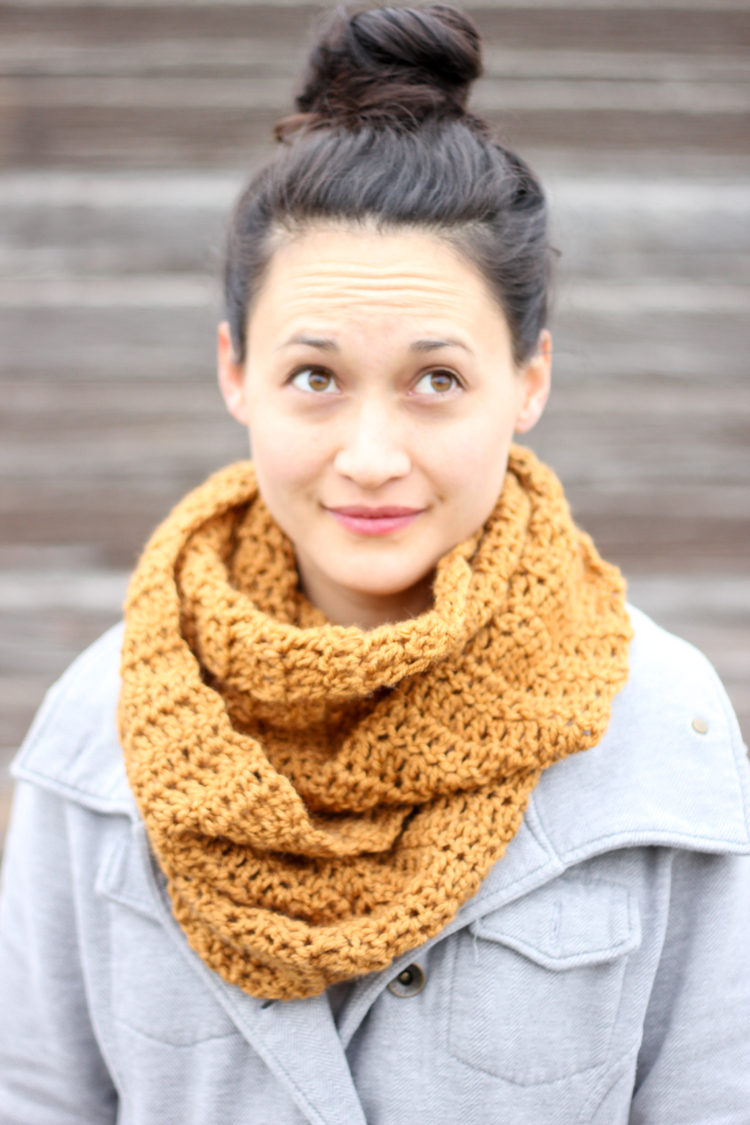 Double Crochet Infinity Scarf Free Pattern : Pin Free Crochet Infinity Scarf Patterns on Pinterest