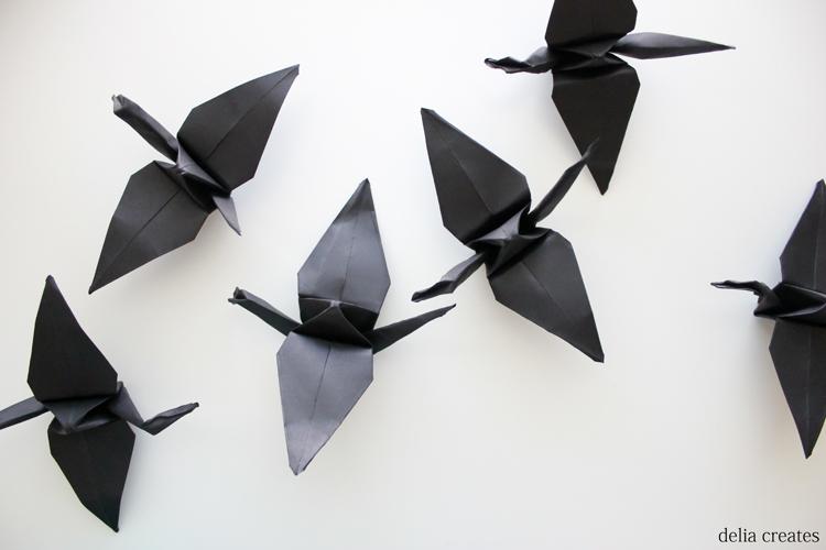 paper crane mobile (1 of 16)