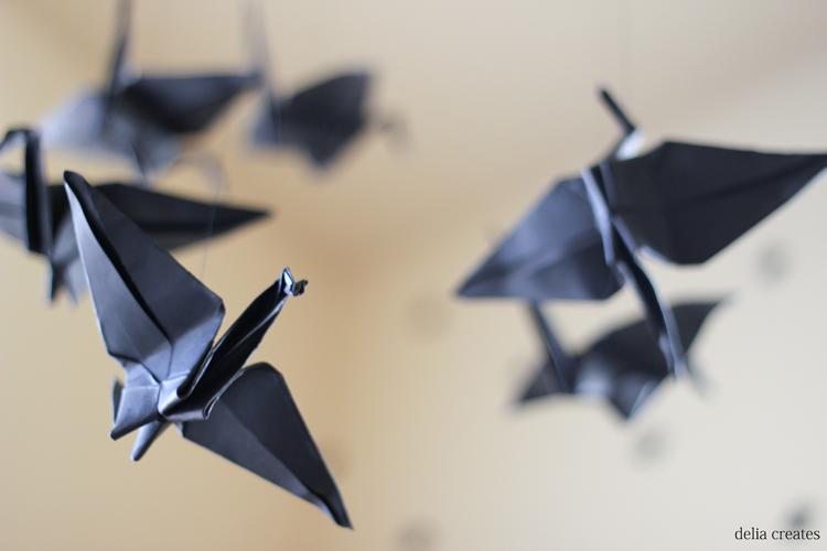paper crane mobile (7 of 16)