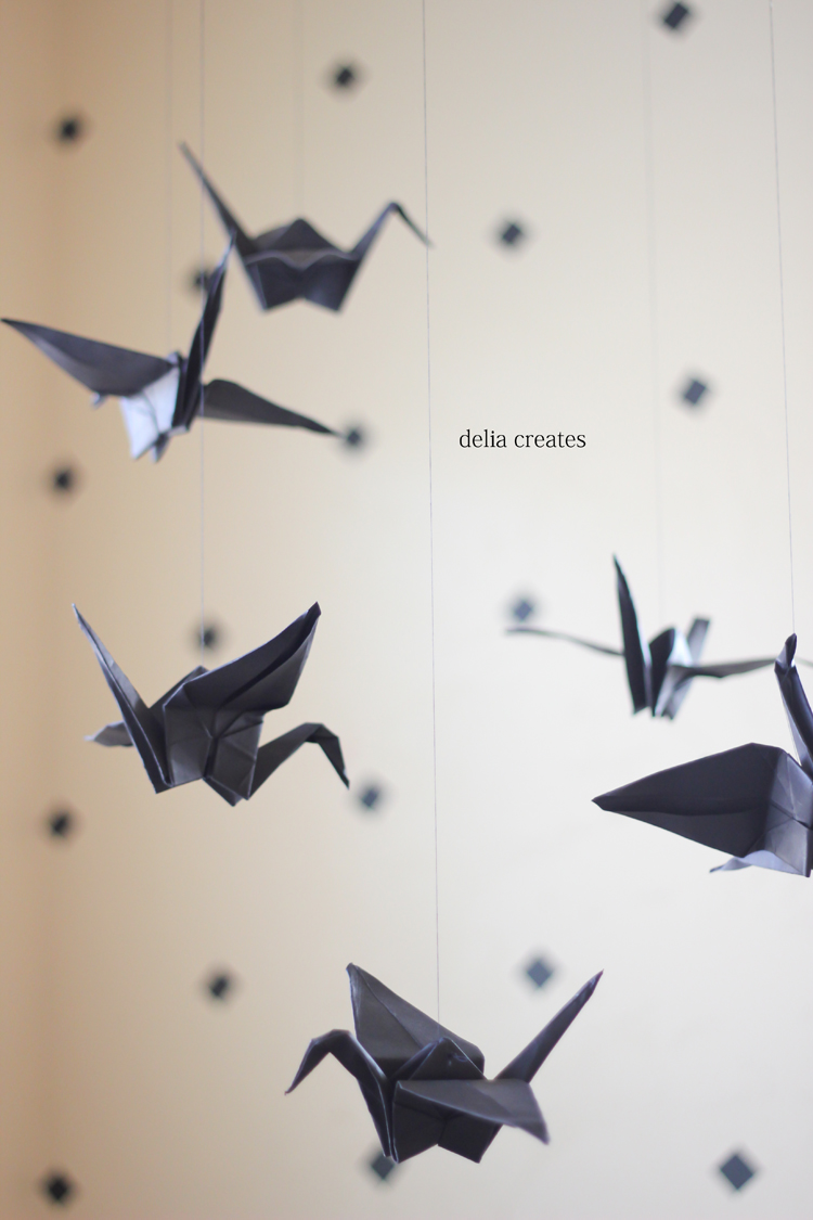 paper crane mobile (8 of 16)
