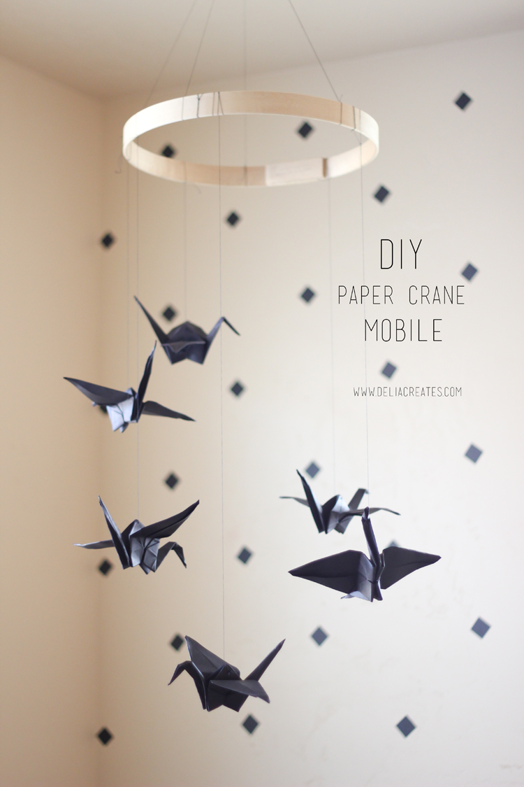 paper crane mobile (9 of 16)