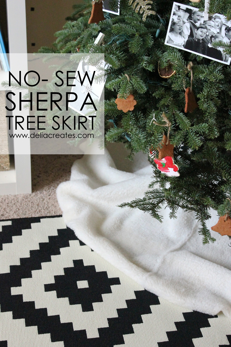 No Sew Sherpa Tree Skirt (15 of 20) title