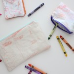 Kid Keepsake Gift: Scribble Pouches
