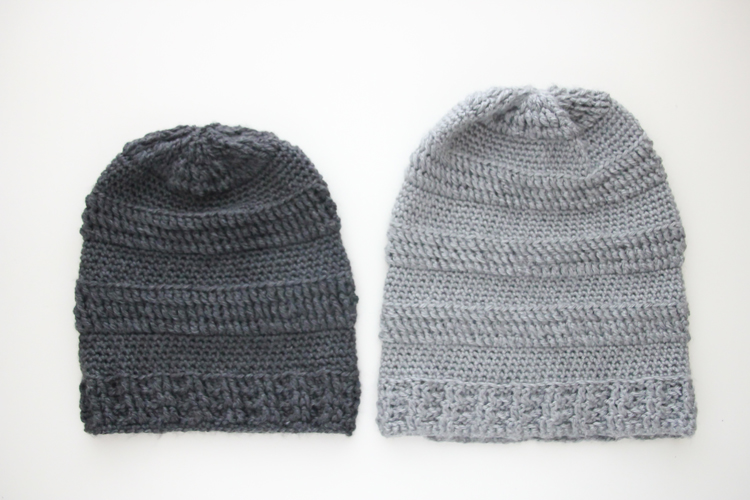 Slouchy Striped beanie pattern  (54 of 125)