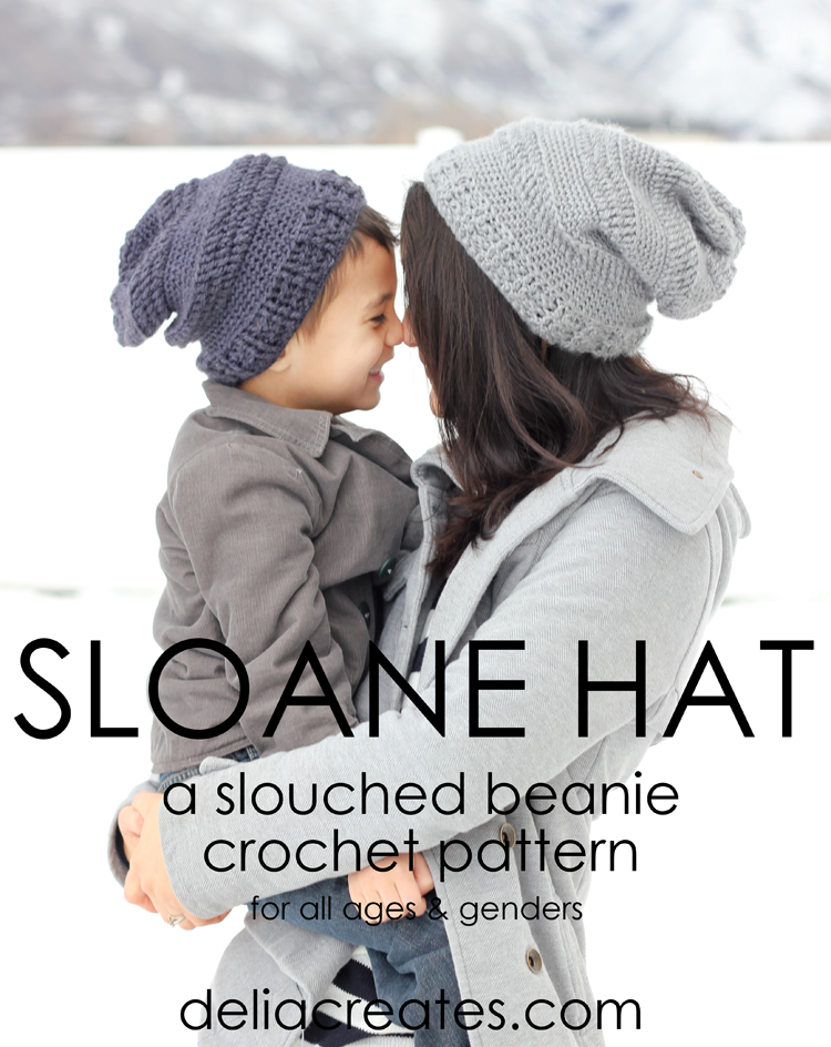 19c367c8f0b The Sloane Hat crochet pattern is now available! Slouchy Striped beanie  pattern (86 of 125)