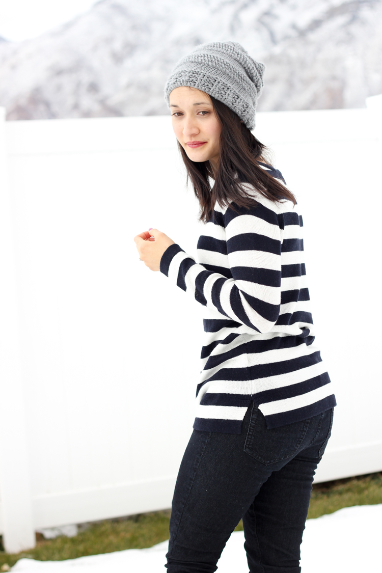 Slouchy Striped beanie pattern  (99 of 125)