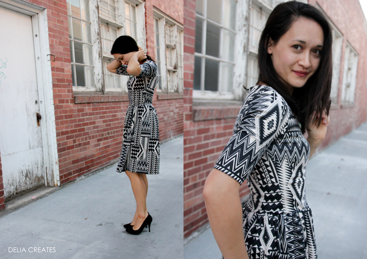Penelope Peplum Dress Review