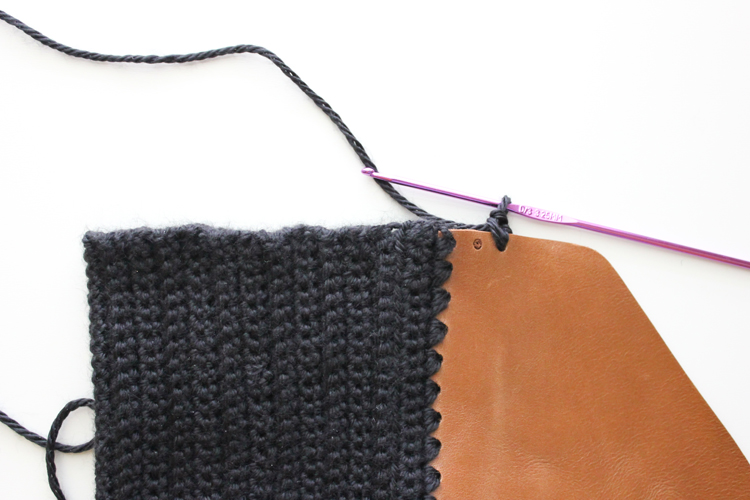 Crocheted Leather Flap Clutch (24 of 66)