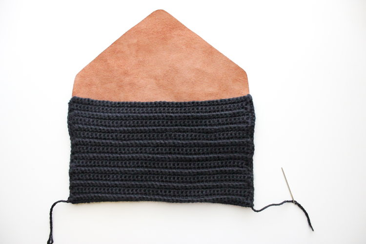 Crocheted Leather Flap Clutch (27 of 66)