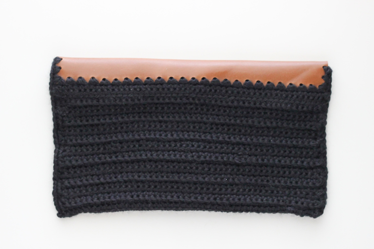 Crocheted Leather Flap Clutch (38 of 66)