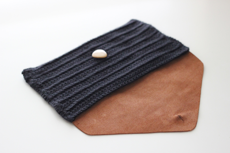 Crocheted Leather Flap Clutch (40 of 66)