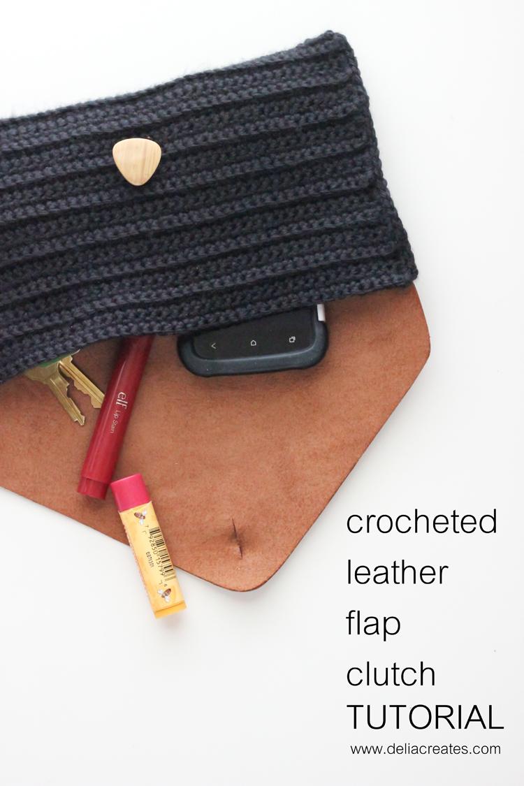Patrons & modèles gratuits des pochettes au crochet