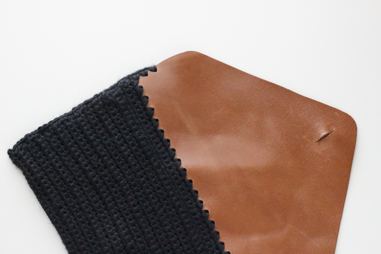 Crocheted Leather Flap Clutch (63 of 66)